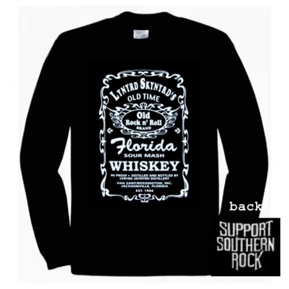 18205a8f Gildan Shirts | Lynyrd Skynyrd Florida Whiskey Long Sleeve Shirt ...